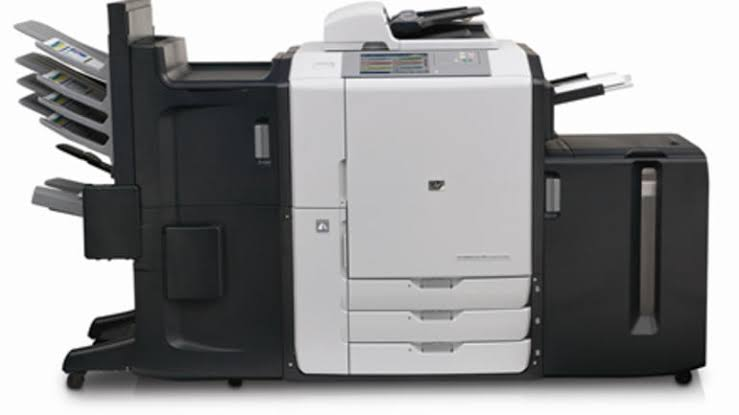 HP CM8060 Color Multifunction Printer with Edge Technology